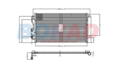 Resim Klima Radyatörü F20 F21 F30 1.16i 1.16d 3.16i 4.20d Motor 2011 Model Sonrası