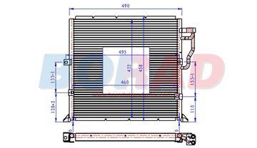 Resim Klima Radyatörü Bmw E36 3.16i 3.18i 3.20i  Motor 1990 Model Sonrası