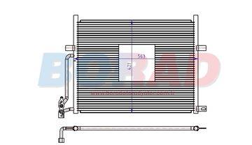 Resim Klima Radyatörü Bmw E46 3.16 3.18 Motor 1998 Model Sonrası